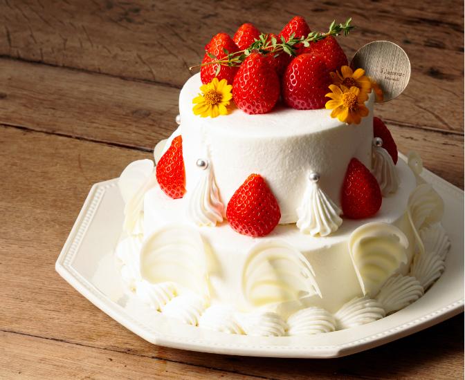 ケーキのお城デコレーション